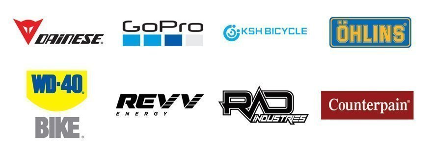 Sponsors Mad Enduro